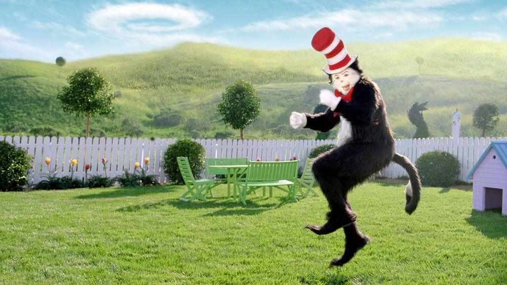 Cat In The Hat Movie In Works From Warner Bros Dr Seuss Enterprises Cat In The Hat Movie Green In Film Seuss