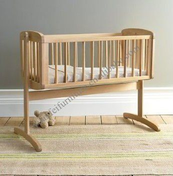 Wooden baby cradle...Just got one today