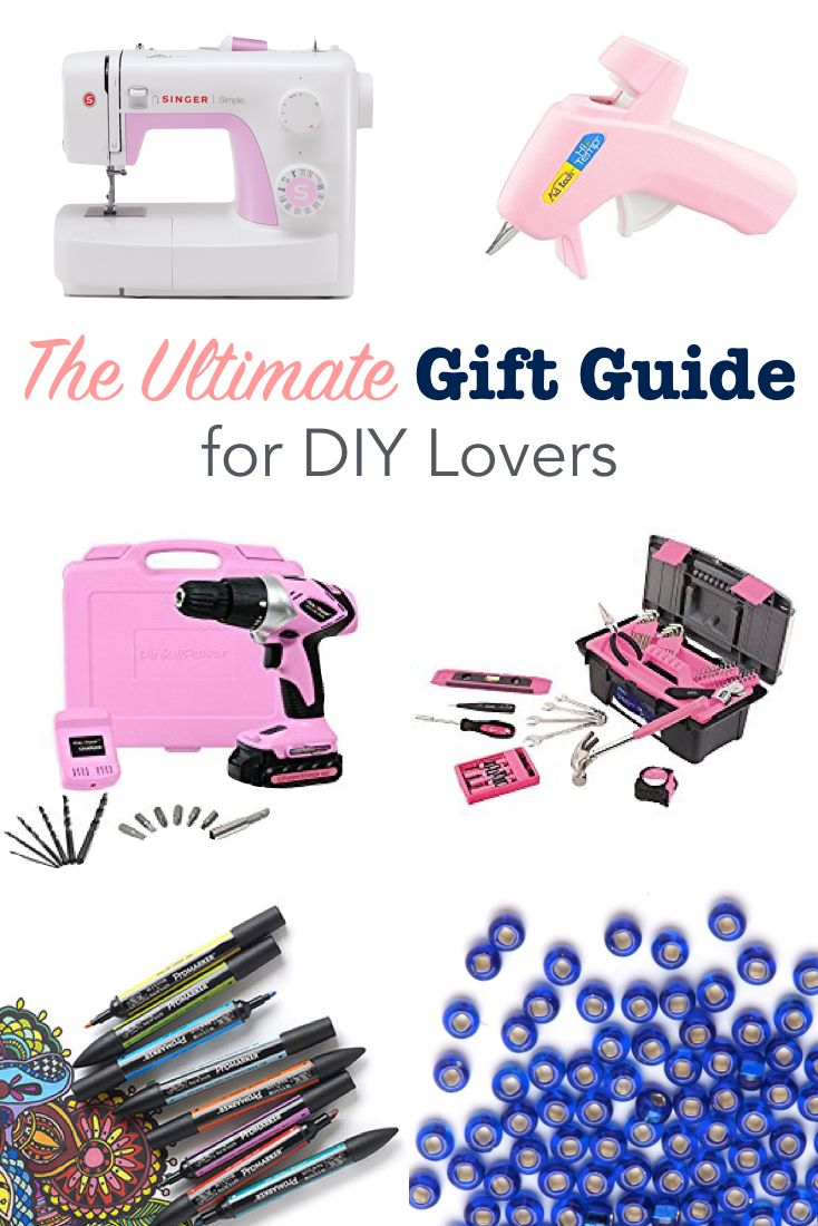 The Ultimate Gift Guide For Diy Lovers Gift Guide Ultimate Gift Guide Budget Friendly Gift