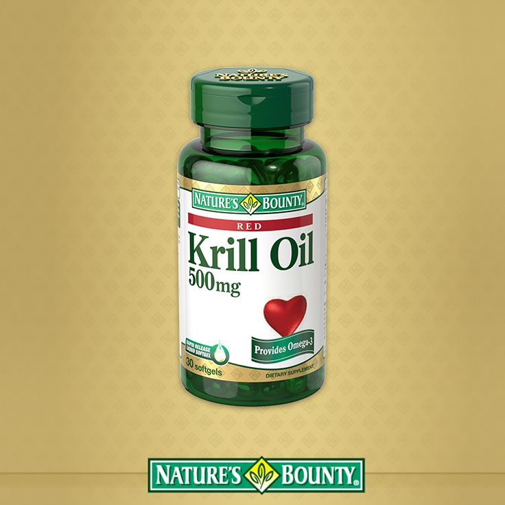 "Our Krill Oil formula provides Omega-3 fatty acids which are considered ""good"" fats important for heart and metabolic health.*"