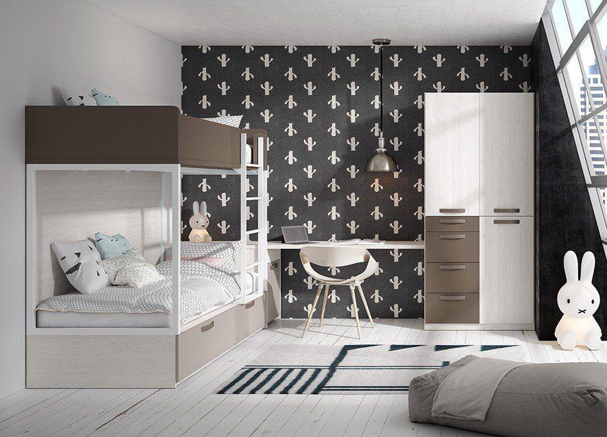 Dormitorio Juvenil Moderno 270 038