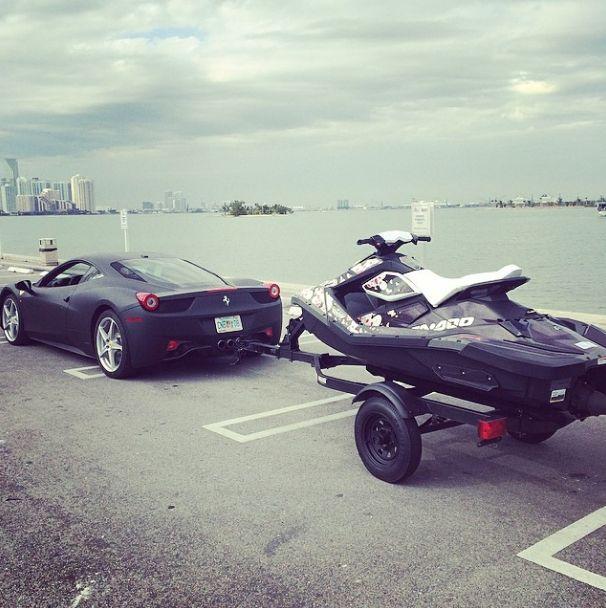 Ferrari Sea Doo Spark Jet Ski Jet Boats
