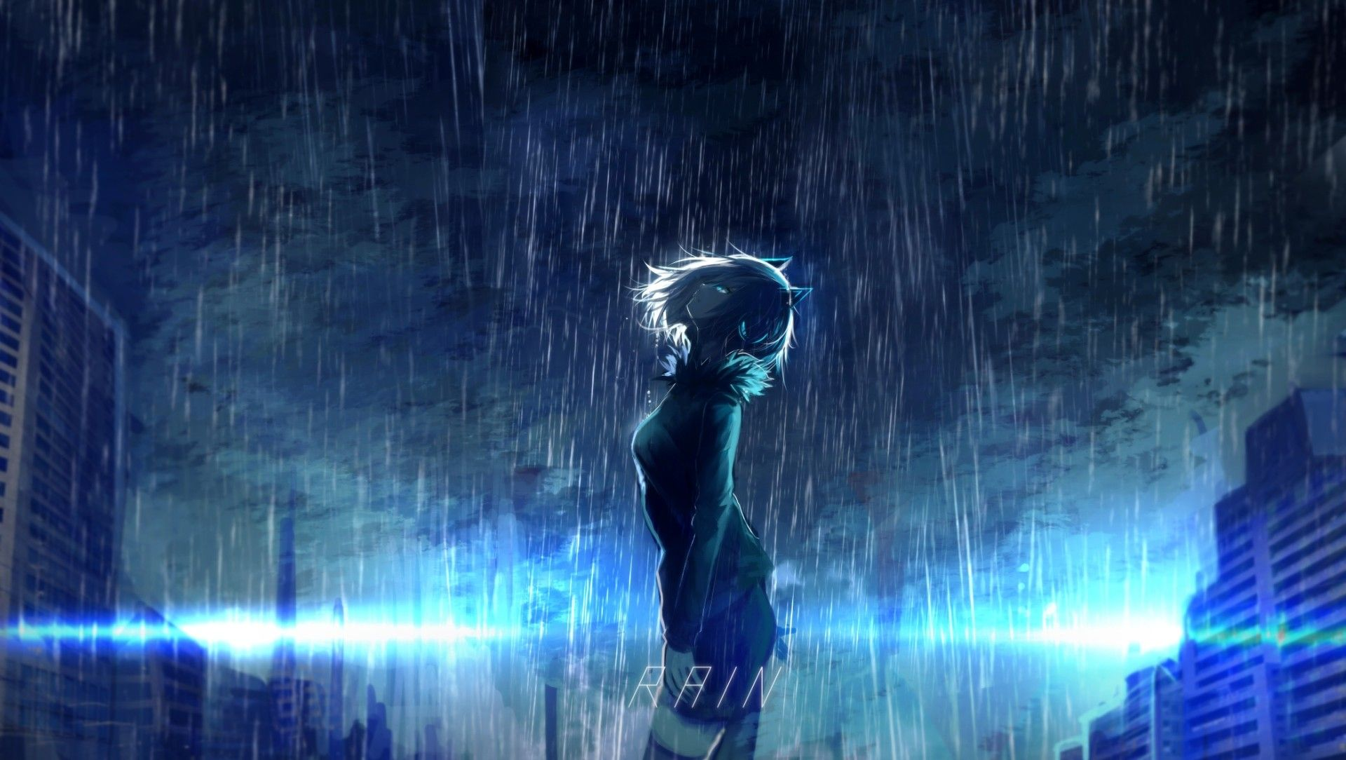 Pin By Sean On Rain On Me Anime Scenery Wallpaper Anime Scenery