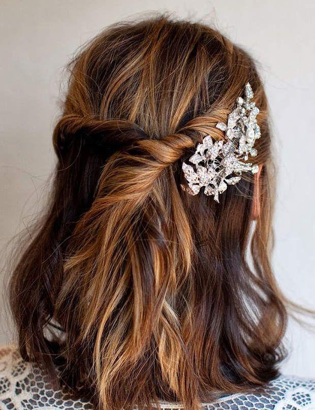 Coiffures de mariée les tendances de 2015 Hair style