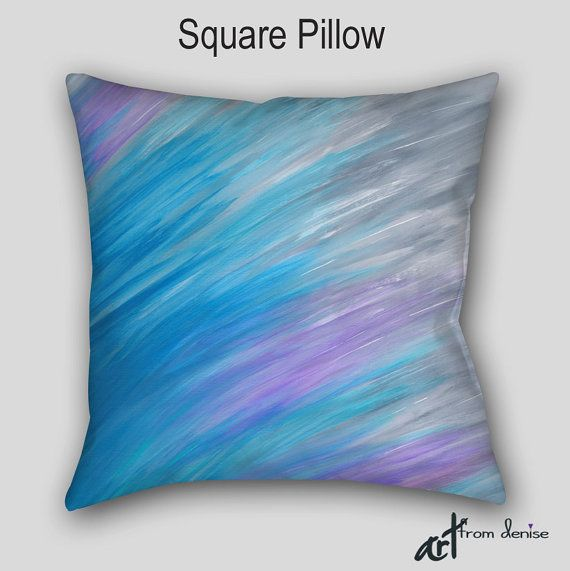 Lavender Gray Turquoise Blue Throw Pillows For Bed Decor Etsy Pillow Decorative Bedroom Red Decorative Pillows Living Room Decor Pillows