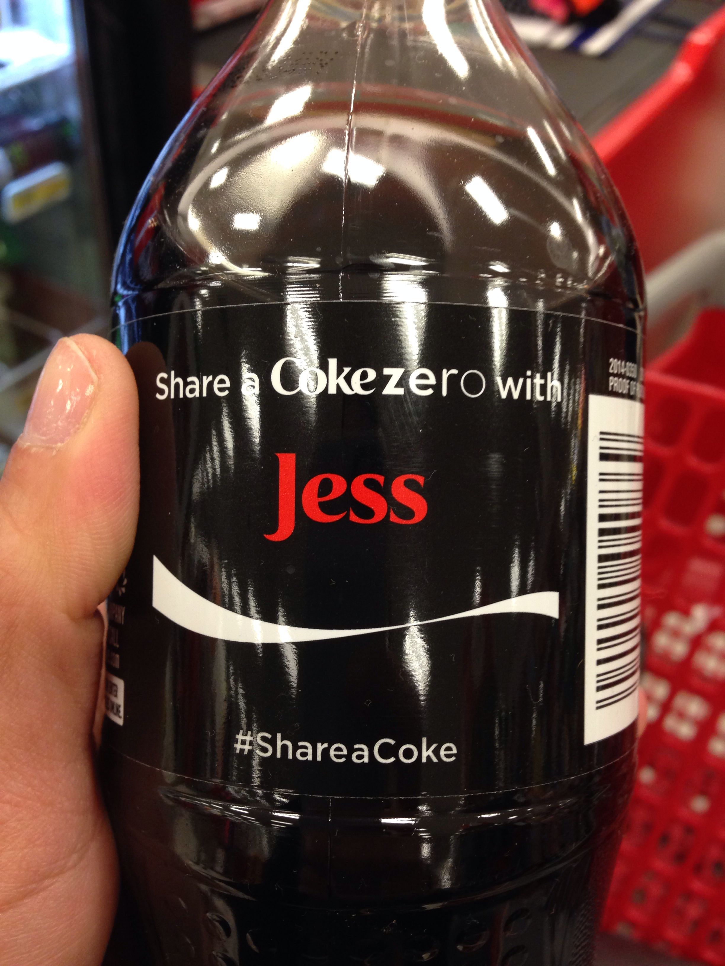 Damn it, coke! Your genius marketing got to me!!