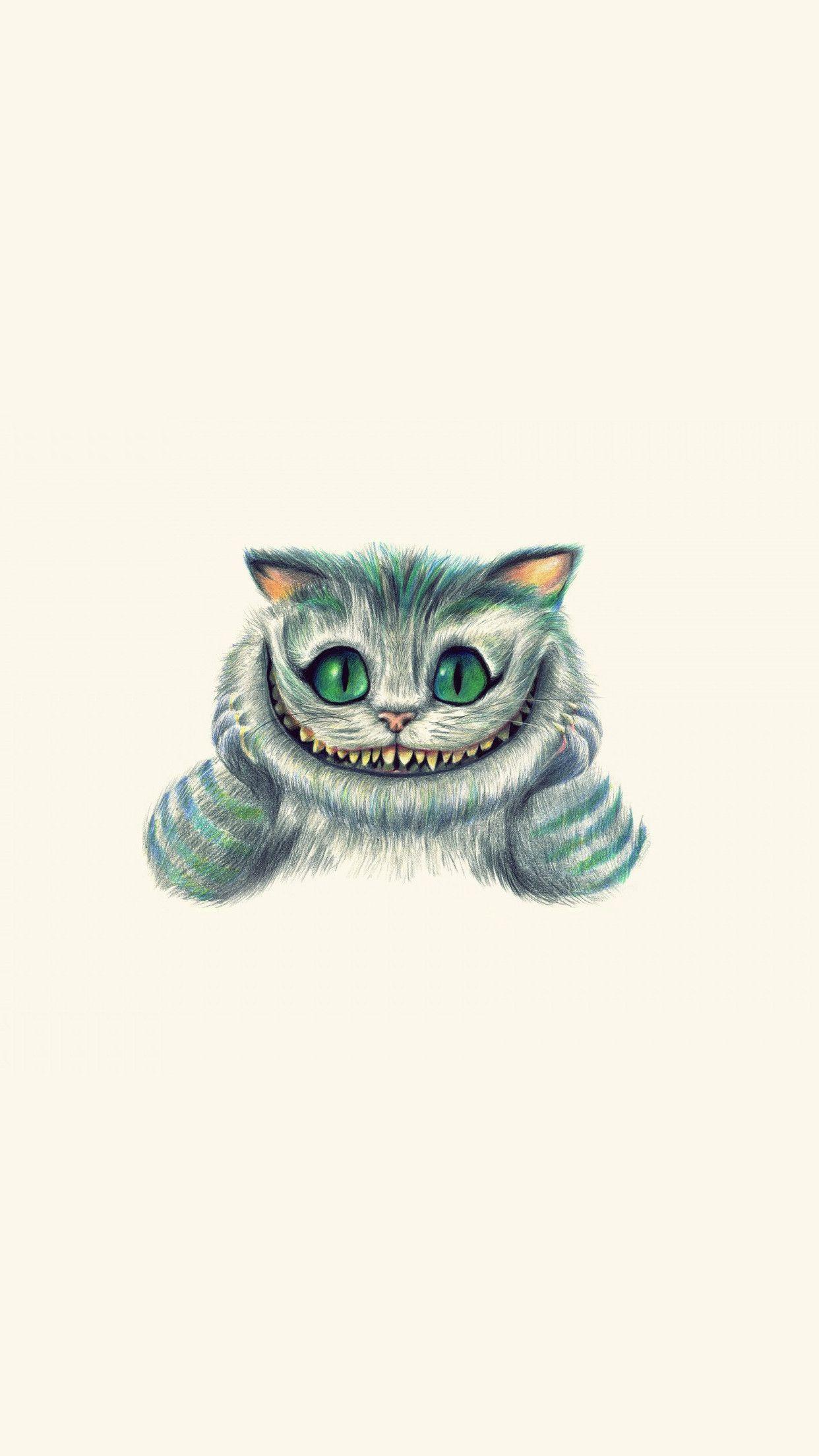 1242x2208 Alice In Wonderland Cat 3wallpapers Iphone Parallax Les 3 Wallpapers Cheshire Cat Wallpaper Iphone Wallpaper Cat Cat Wallpaper