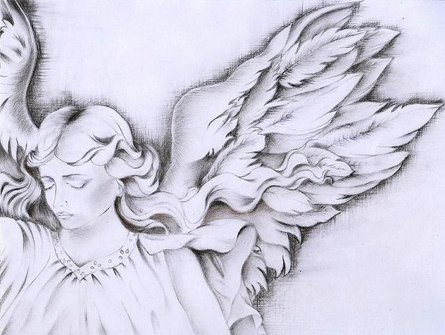 Pencil drawings of angels recent photos the commons getty collection galleries world map app