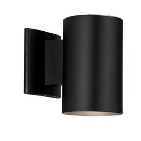 Portfolio 7 in h black dark sky outdoor wall light 1998 lowes portfolio 7 in h black dark sky outdoor wall light 1998 lowes mozeypictures Gallery