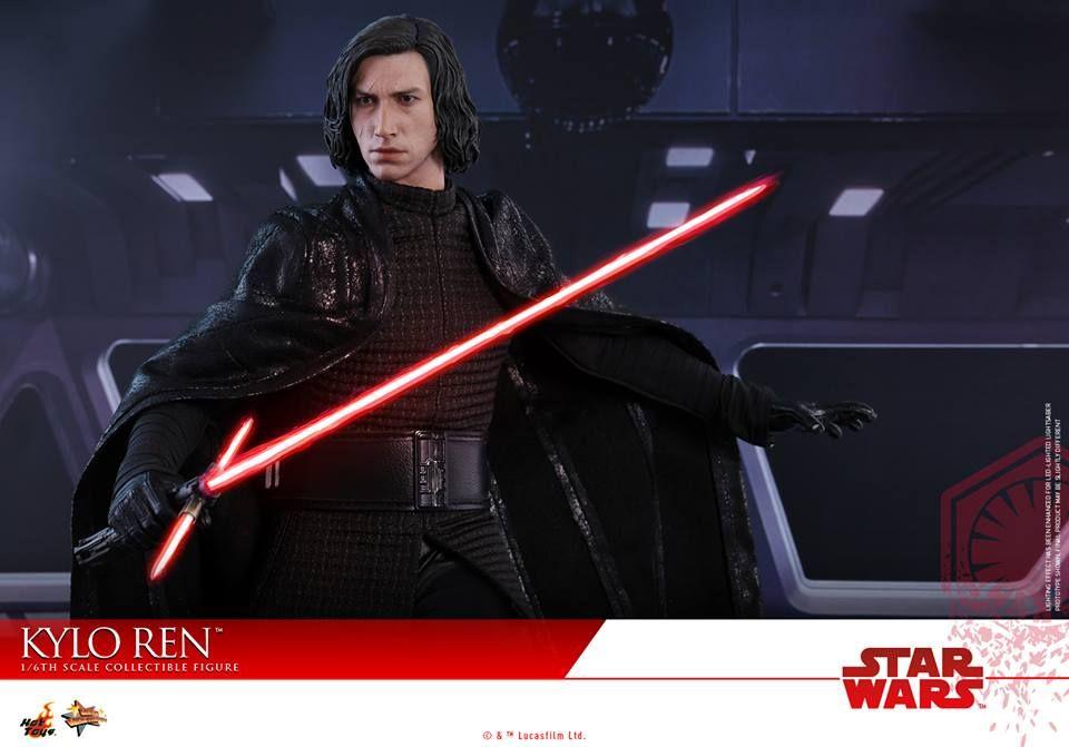Hot Toys 1 6 Action Figure Star Wars The Last Jedi Kylo Ren Hk 1 430