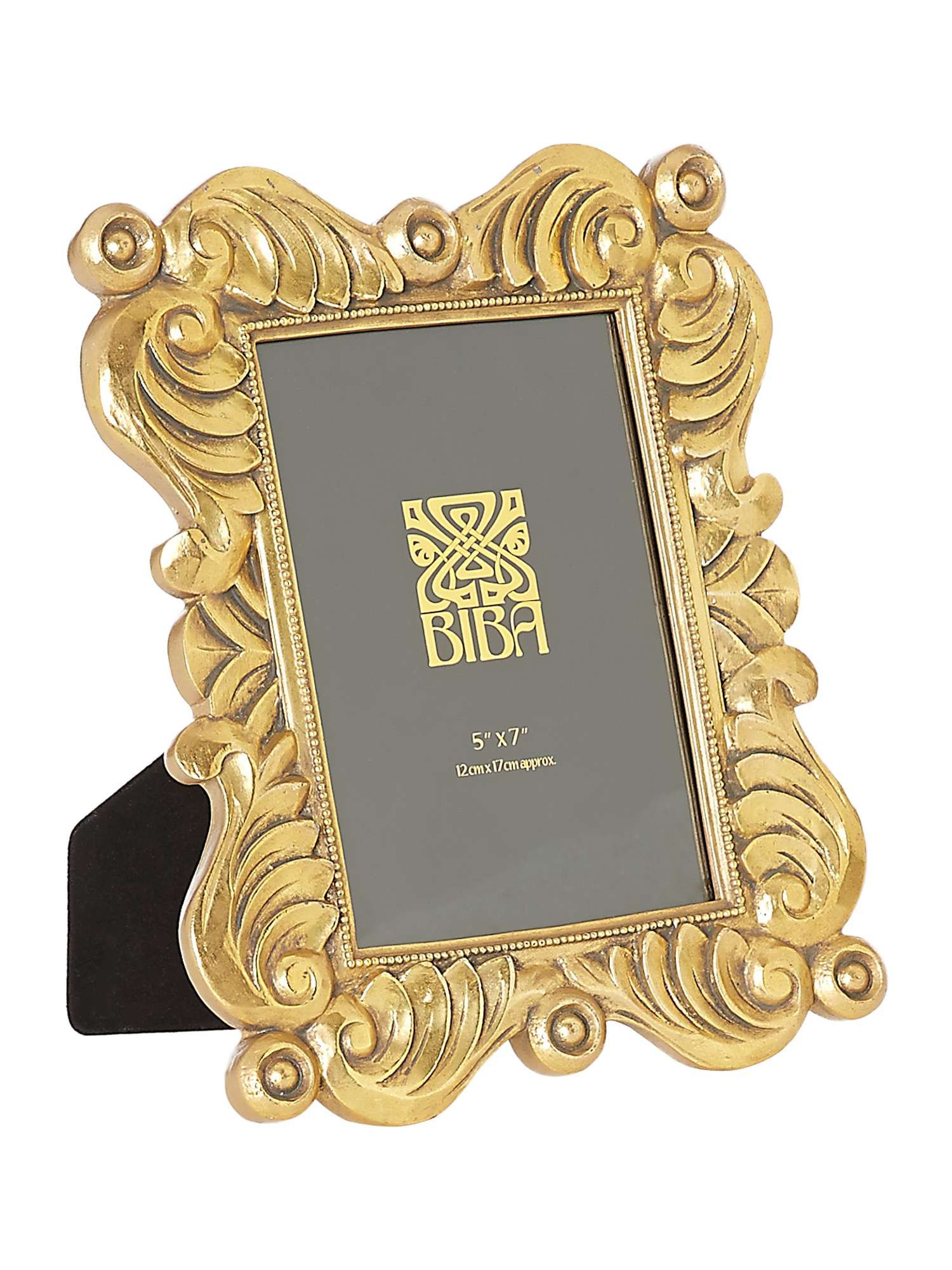Buy Your Biba Jasmine Gold Photo Frame 5x7 Online Now At House Of