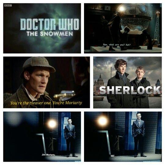 Fandoms collide :) Doctor Who meets Sherlock... | Doctor ...  Fandoms Collide