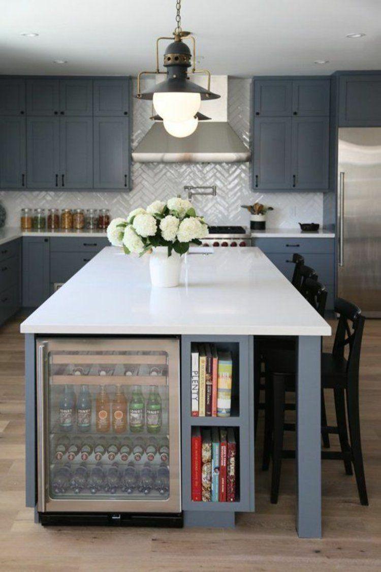 Kücheninsel mit stauraum schöne küchen bilder