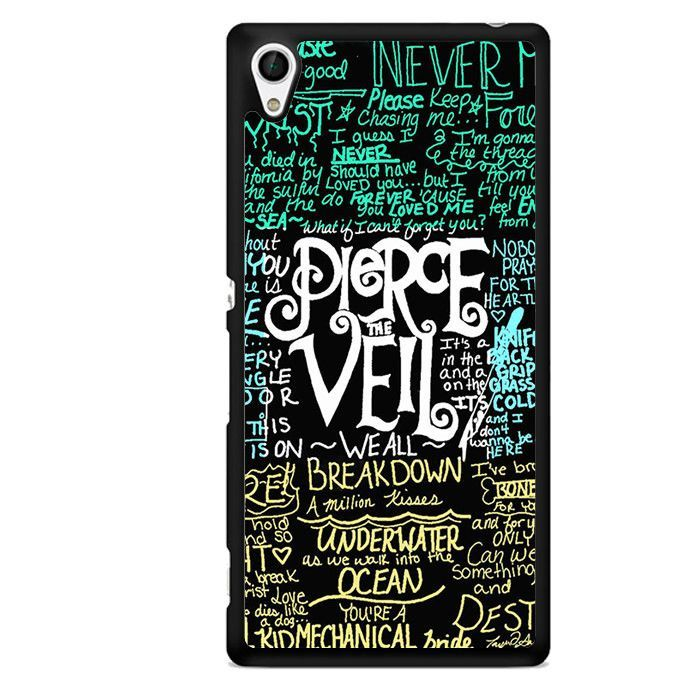 Pierce The Veil TATUM-8594 Sony Phonecase Cover For Xperia Z1, Xperia Z2, Xperia Z3, Xperia Z4, Xperia Z5