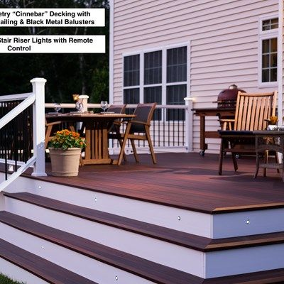 Composite Decks Using The Best Maintenance Free Products Like