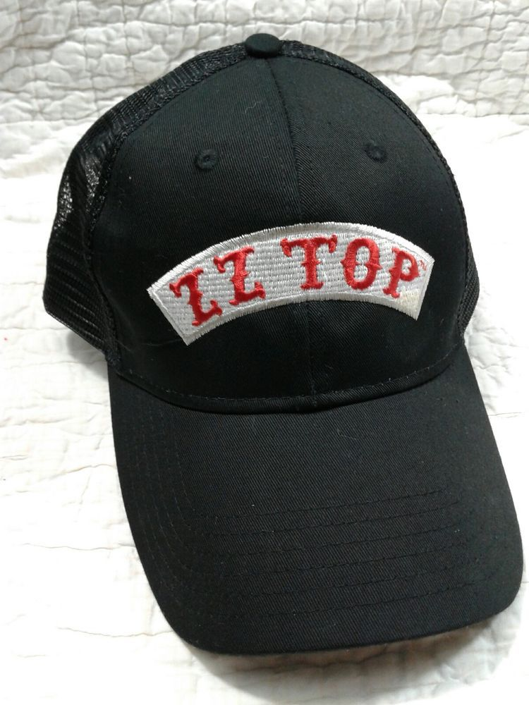 ZZ Top Logo Black and red preowned snapback baseball cap  fashion  clothing   shoes  accessories  mensaccessories  hats (ebay link) 0d2ba52da61