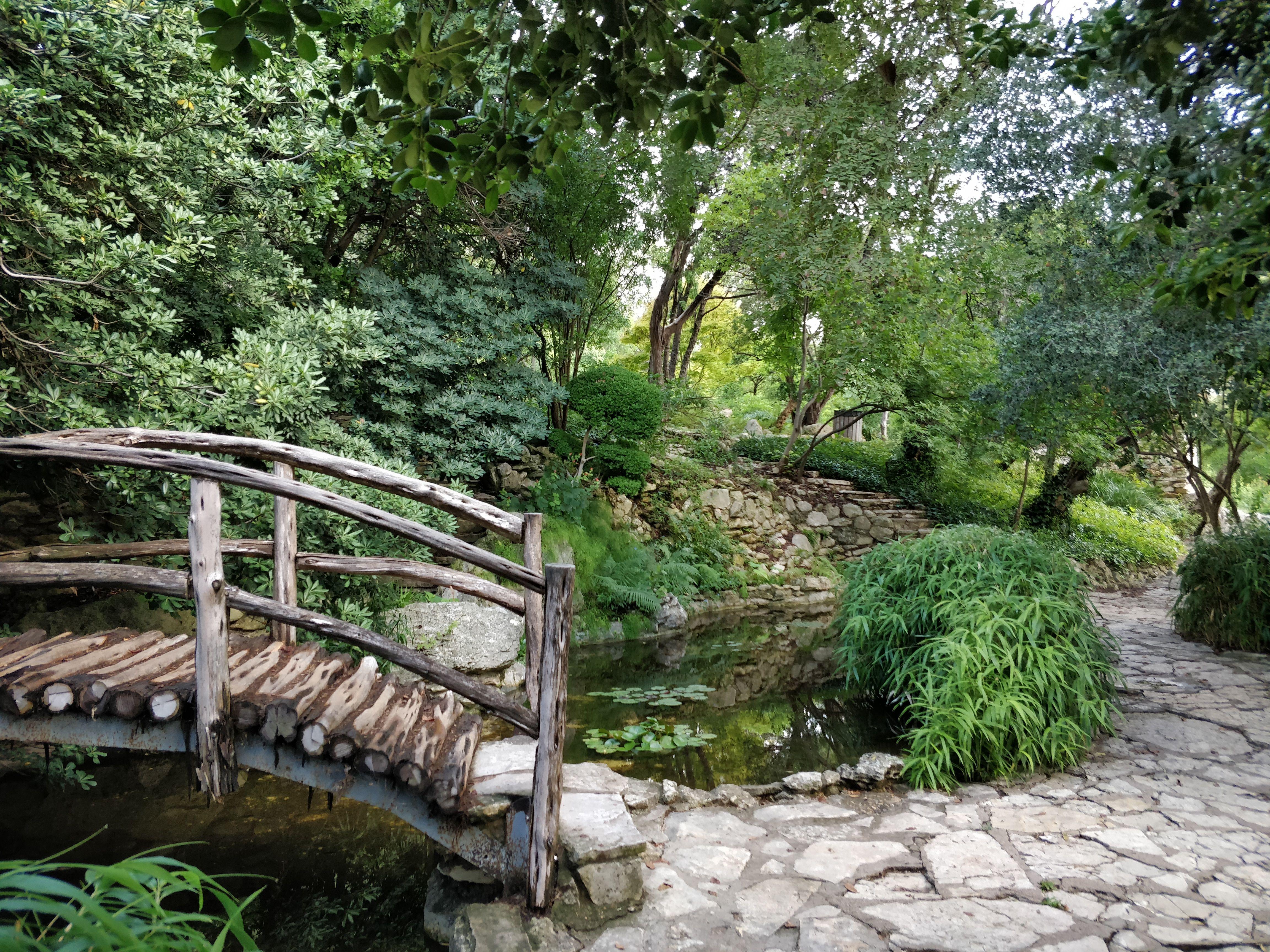 Chinese Gardens Zilker Botanical Gardens Garden Design Chinese Garden Garden Bridge