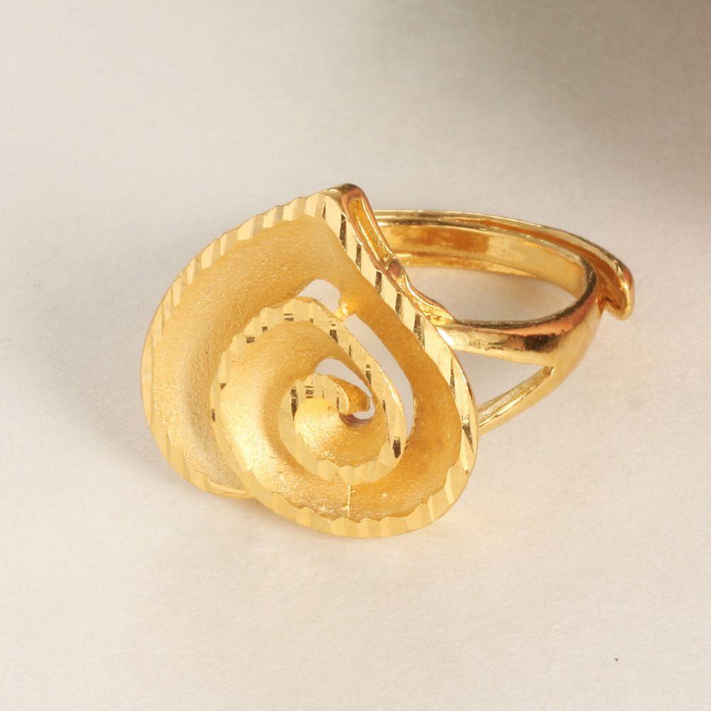 gold-engagement-rings-for-women-21 | Diamond jewellery | Pinterest ...