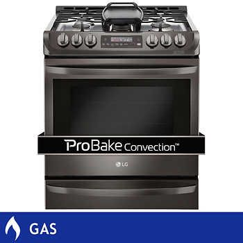 LG 6.3CuFt GAS Slide-in Range with ProBake Convection™ Technology in ...