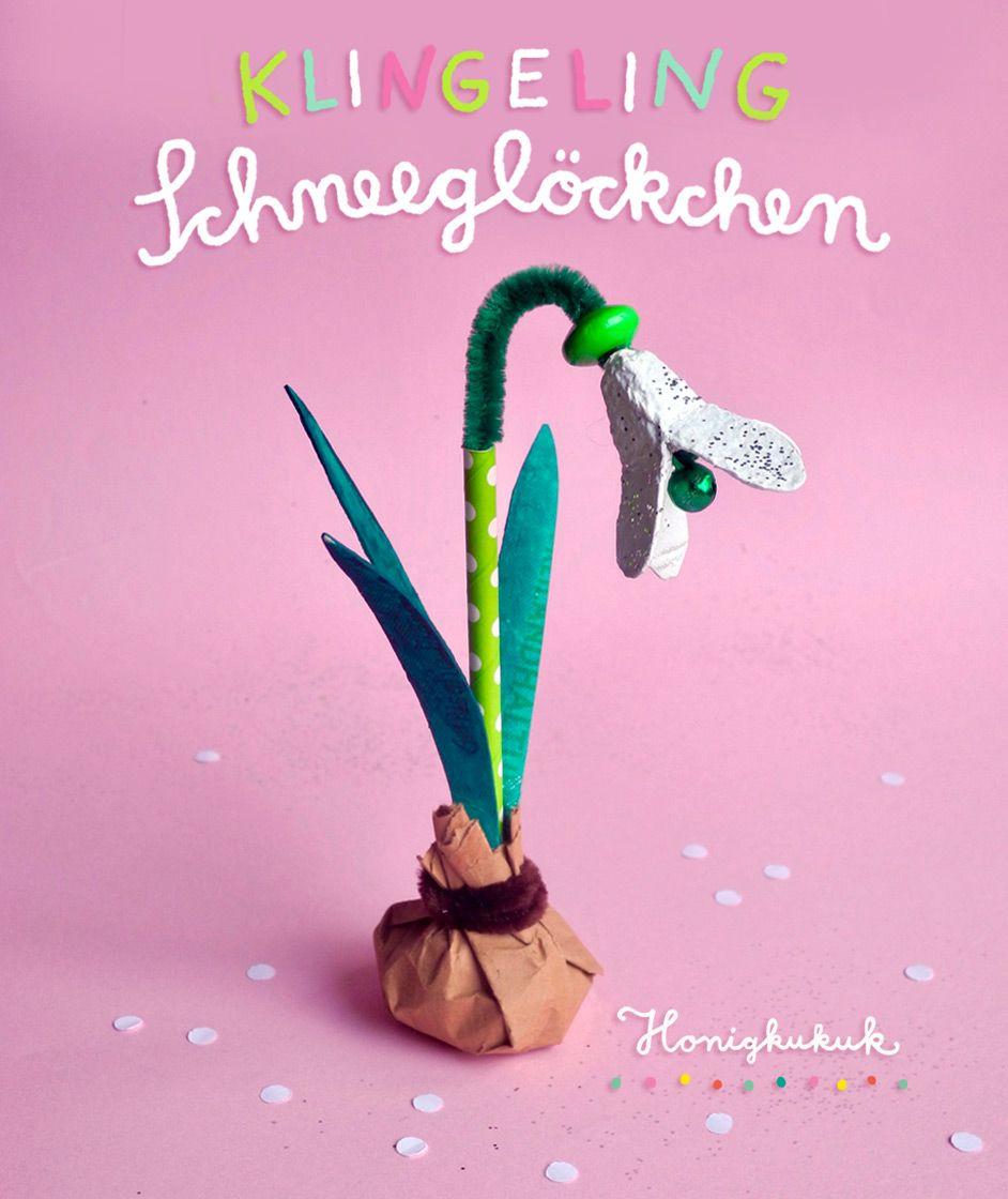 Photo of Klingelndes Schneeglöckchen aus Eierkarton