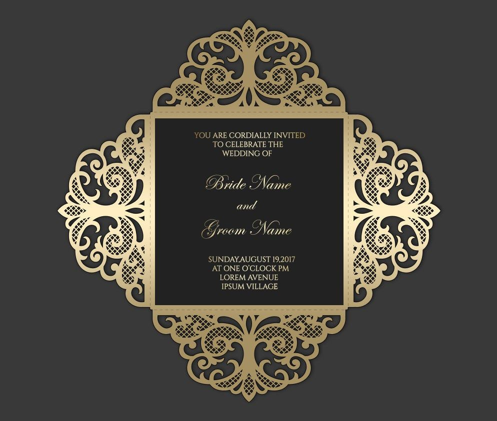 Pin on Laser cut Wedding Invitations