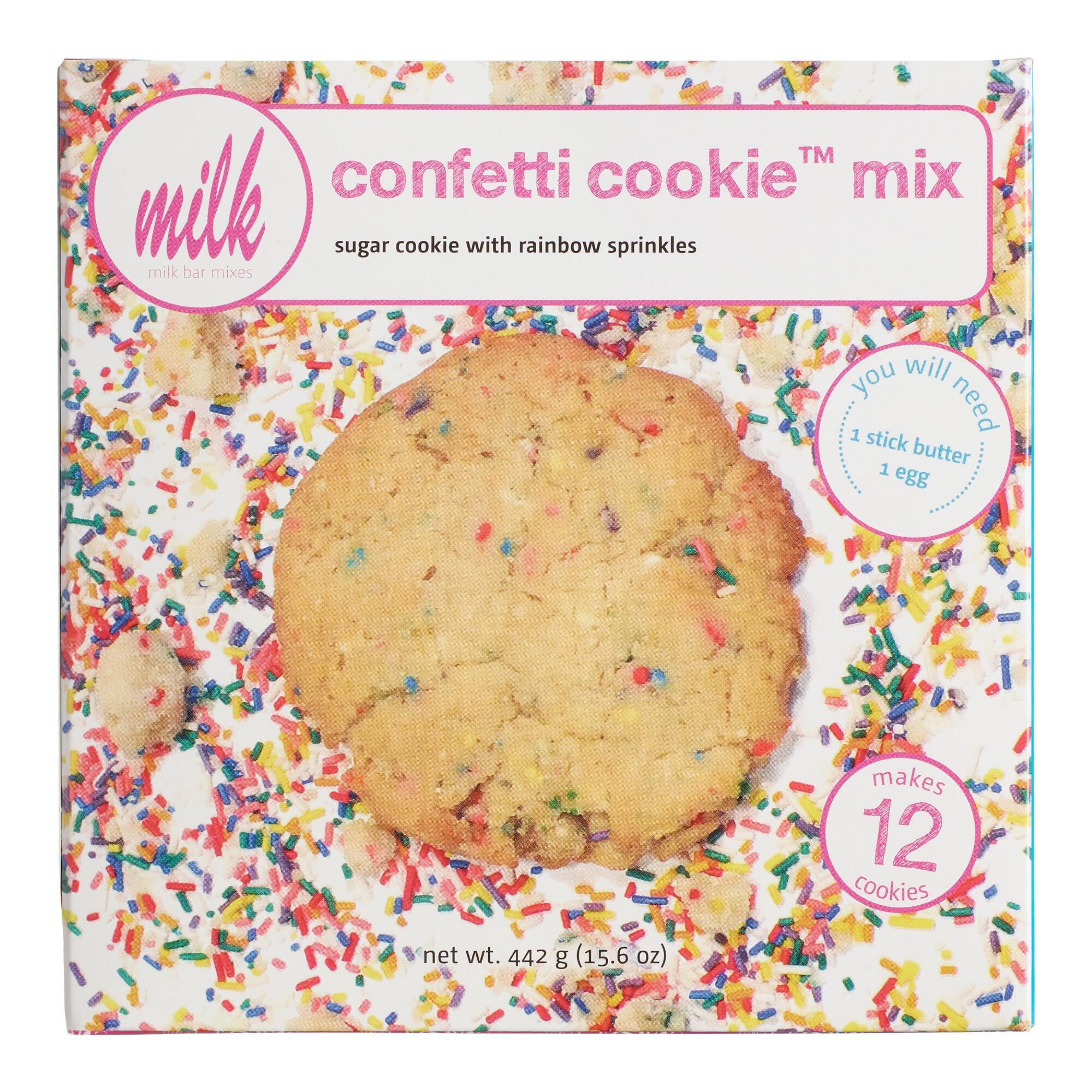 Momofuku Milk Bar No 12 Confetti Cookies Confetti Cookies Milk Bar Recipes Momofuku Milk Bar