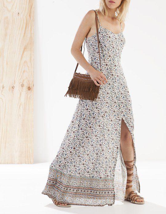 Vestidos largos de verano stradivarius