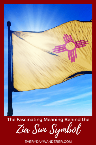 The Fascinating Meaning Behind the Zia Sun Symbol on New Mexico's State Flag #newmexico #sunsymbol #flag