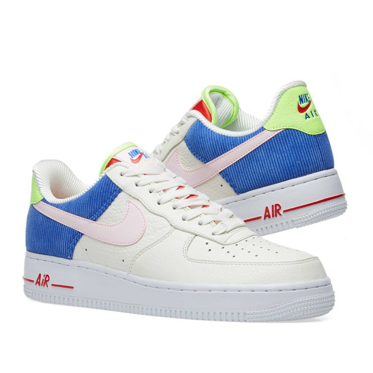 sale retailer c4e78 89d9d Nike Air Force 1 Low W Sail, Arctic Pink   Racer Blue 7