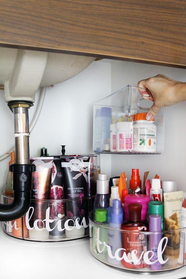 Photo of Under Bathroom Sink Organization Ideas