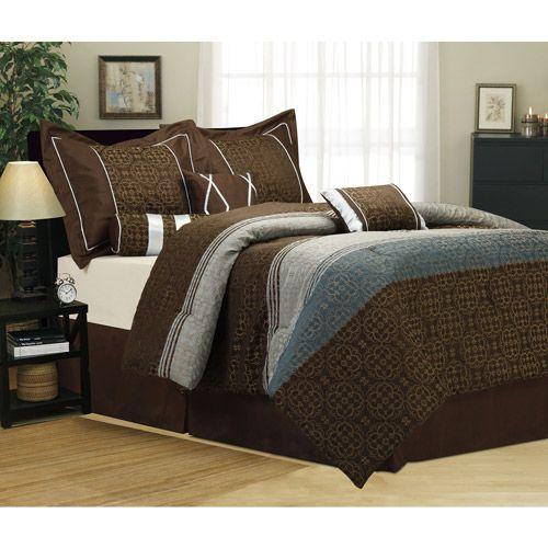 Jennasse 7 Piece Bedding Comforter Set Bed Comforters Luxury Comforter Sets Comforter Sets