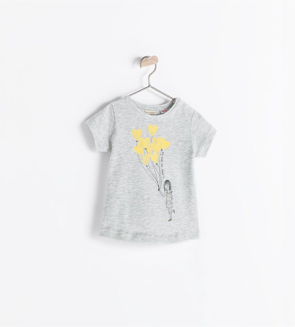 2ee5b70561 ZARA - KIDS - DOLL PRINT T-SHIRT Liapela.com | Baby FASHION | Kids ...