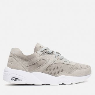 puma trinomic blanche et or