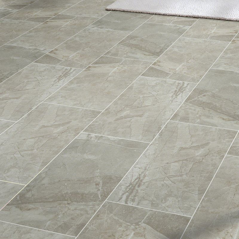 Vision 12 X 24 Ceramic Field Tile In Gray Ceramic Floor Tile Ceramic Floor Tile Floor