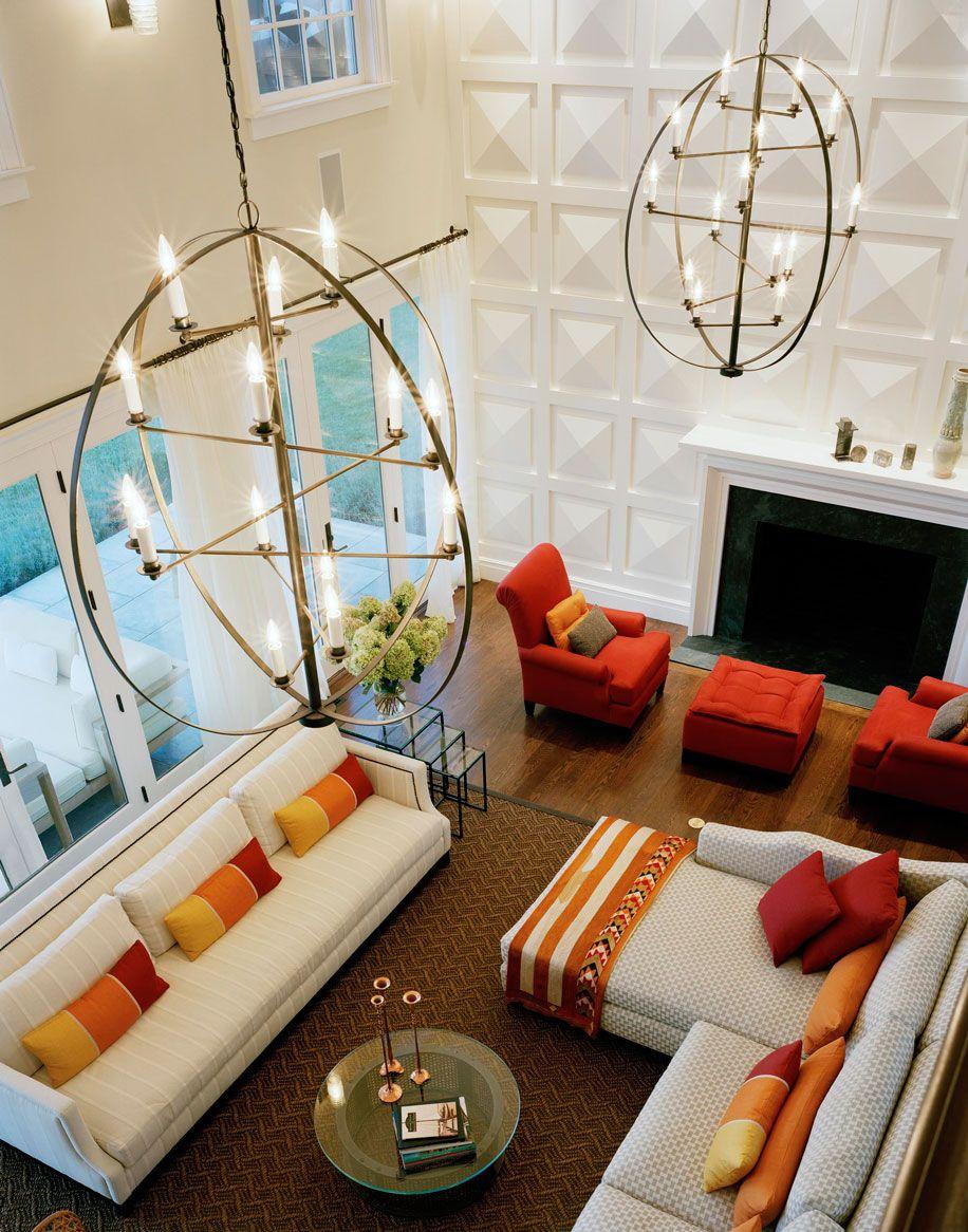 Long Island Retreat Hamilton Design Associates Living Room Furniture Layout Family Living Rooms Home Decor