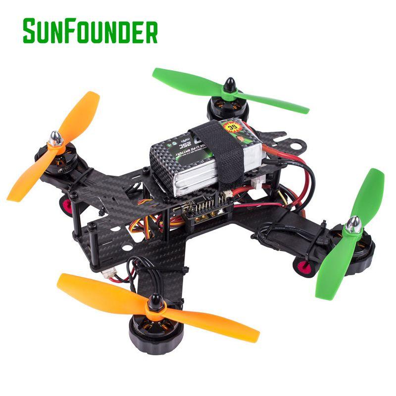 SunFounder SF210 FPV Racer Quadcopter Dron Frame Kit NazeFlight32 ...