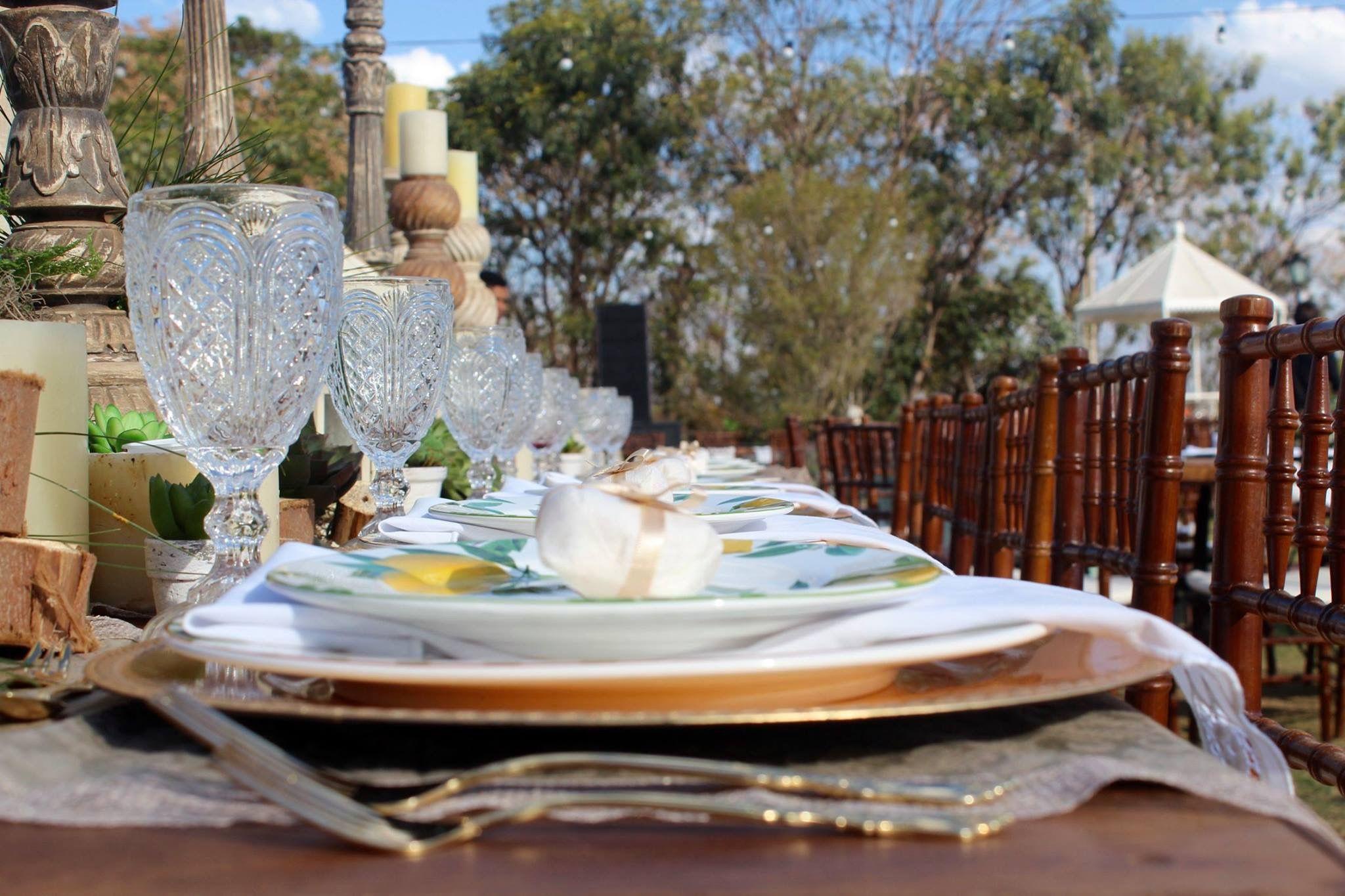 Louça de limão siciliano