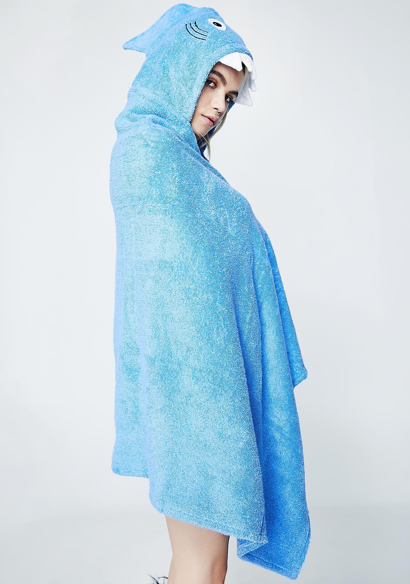 1ae345871d Adult Shark Hooded Towel | Gifts | Shark, Hoods, Towel