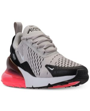Nike Big Boys  Air Max 270 Casual Sneakers from Finish Line - Black ... 63fb462c5e