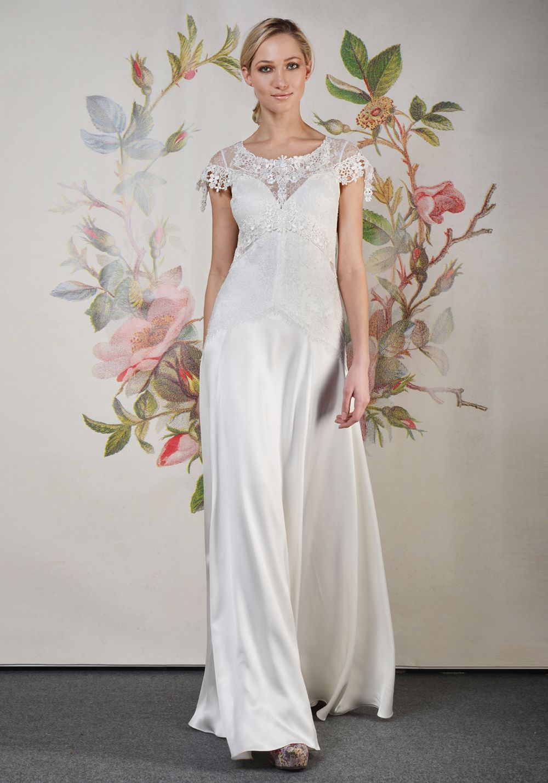Best vintage wedding dress designers  Claire Pettibone  Couture Bridal l Wedding Dresses Bridal Gowns