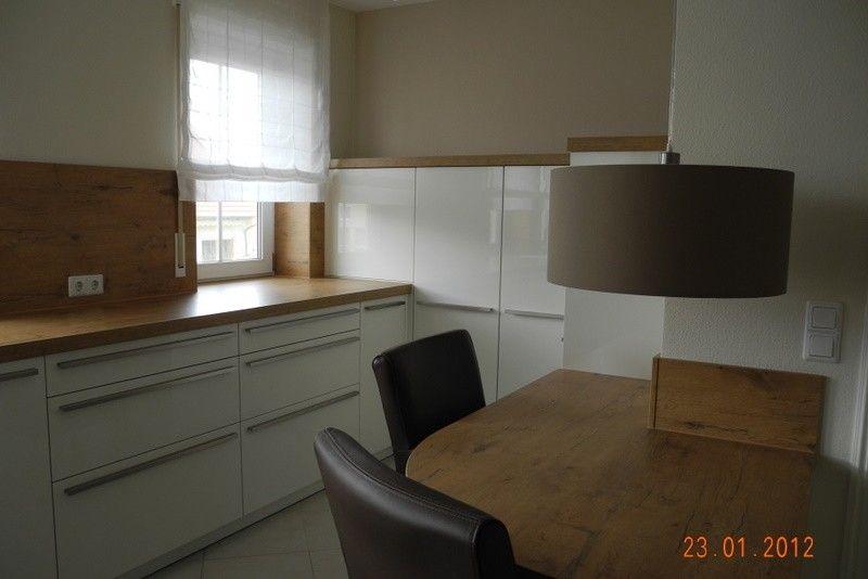 Unsere neue Küche ist fertig Der Hersteller ist Leicht - Largo FG - Küchen Weiß Hochglanz