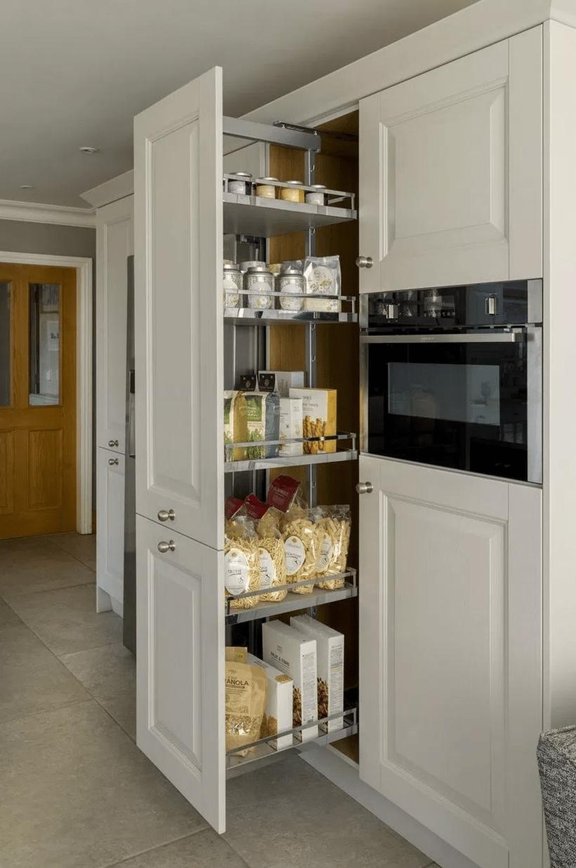 55 Creative Kitchen Cabinet Ideas For Your Kitchen Clever Kitchen Storage Kitchen Cabinet Design Diy Kitchen Storage