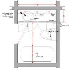 Small Bathroom Designs Floor Plans  Baños  Pinterest  Small Best Plans For Small Bathrooms Decorating Design