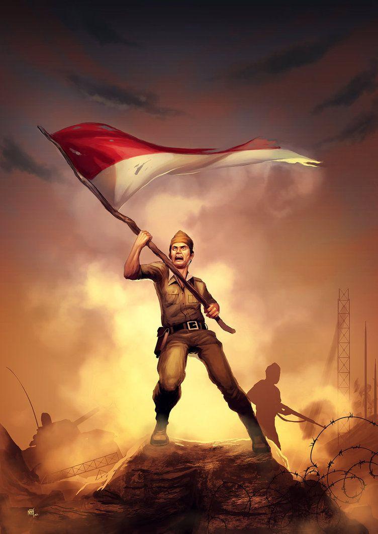 Background Hari Pahlawan : background, pahlawan, Jayalah, INDONESIA, Independence, Images,, Indonesian, Flag,