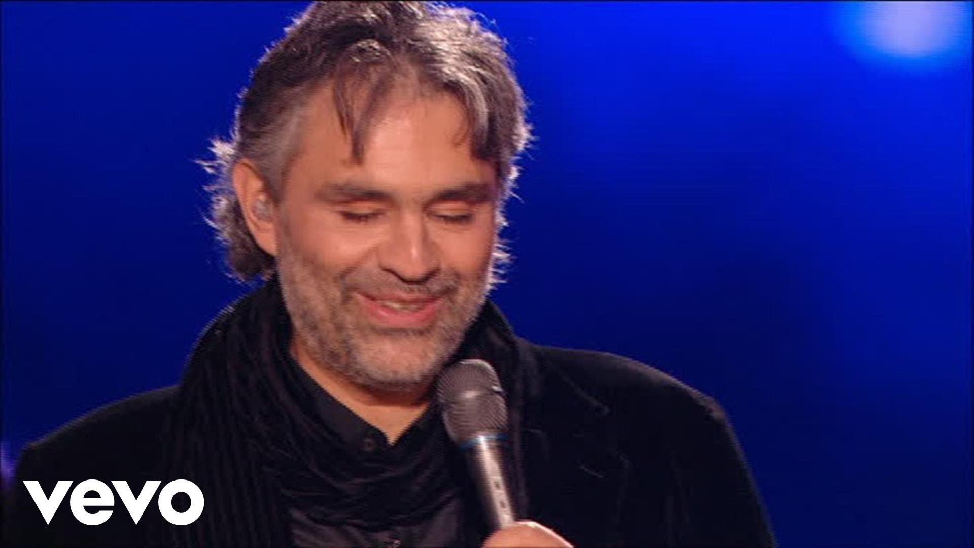 Andrea Bocelli Can T Help Falling In Love Hd Frases
