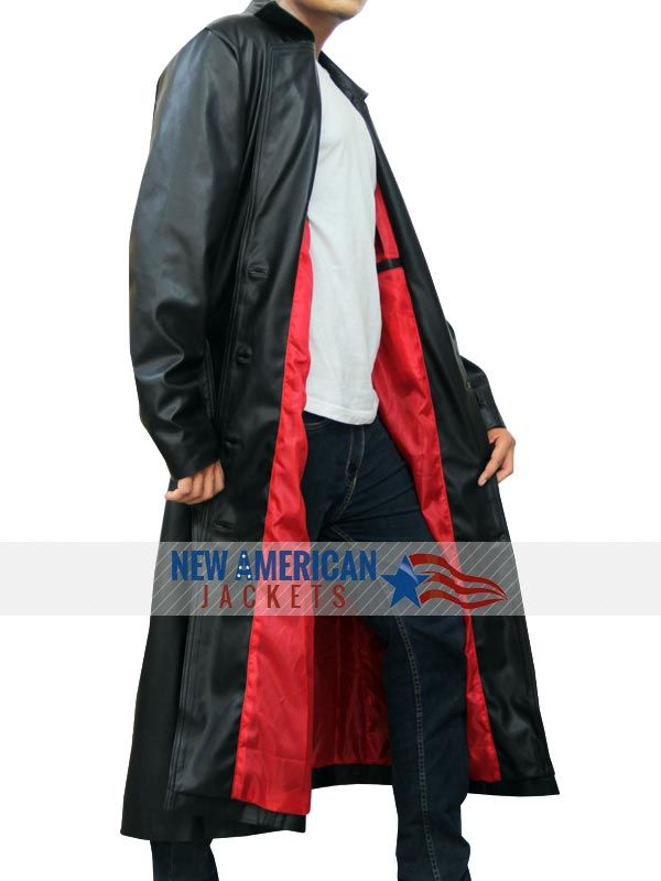 Trench Leather Blade Coat New American Jackets Online Shopping