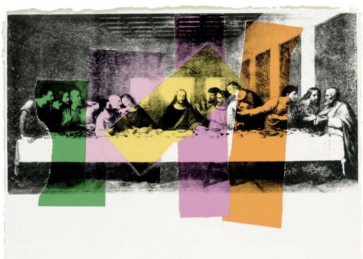 La última cena, Andy Warhol, 1986, Ruth Pérez Buendía | Andy ...