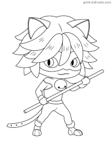 Miraculous Tales Of Ladybug Cat Noir Coloring Pages Print And Color Com Ladybug Coloring Page Coloring Books Coloring Pages