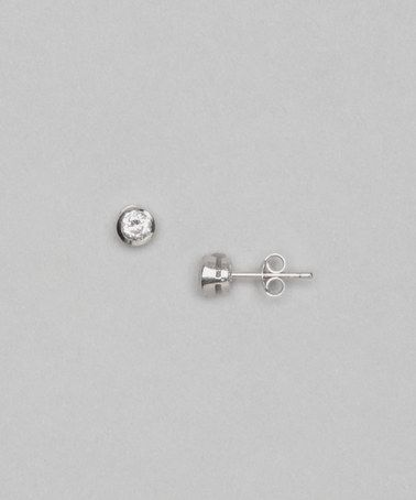 Take a look at this Sterling Silver Dee Stud Earrings by Cate & Chloe on #zulily today!