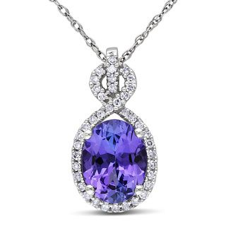 Shop for miadora 10k white gold tanzanite and 16ct tdw diamond overstock online shopping bedding furniture electronics jewelry clothing more aloadofball Gallery